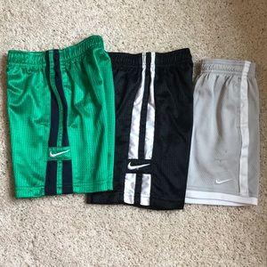 Nike shorts, set of 3